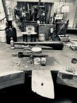 taller con varios herramientas